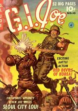 Golden Age Military Comics G.I. Joe, Combat Kelly and more on DVD