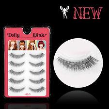 2016 New M02 Koji Natural Short Thick Winged False Eyelashes reusable eye lashes