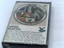 Jimmy Martin - Will The Circle Be Unbroken - Cassette - SeALED