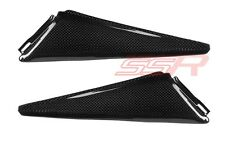Honda 1000RR (100%) Under Seat Side Panel Trim Fairing Covers Carbon Fiber Fibre