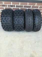 21x7-10 / 20x11-9 NEW ATV TIRE SET (All 4 Tires) Yamaha YFZ450 Can AM DS450 etc.