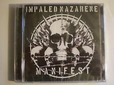 Impaled Nazarene - Manifest(CD, 2007)BEHERIT ARCHGOAT BESTIAL MOCKERY REVENGE