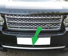 Titanium front bumper trim strip Range Rover L322 Vogue 2010 on supercharged new