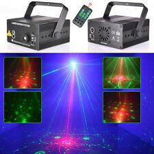 3 Lens Laser Stage DJ Lighting RGB LED ShowLight 48 Patterns+ IR Controller USA