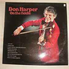 DON HARPER - On THe Fiddle (Vinyl Album)