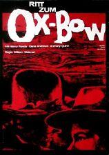 RITT ZUM OX-BOW - 1964 - Filmplakat - Fonda - Andresws - Quinn