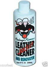 Fiebing's Leather Jacket Cleaner Renovator Clean Preserve Strengthen 8oz
