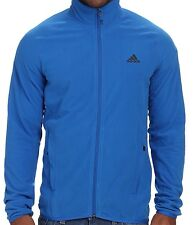 ADIDAS MENS HIKING SOFTSHELL JACKET BLUE SIZES L AND XL