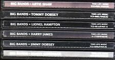 Time Life BIG BANDS Lot JIMMY TOMMY DORSEY GOODMAN ARTIE SHAW JAMES HAMPTON