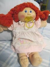 VINTAGE CABBAGE PATCH COLECO  DOLL 1984 WITH PACIFIER