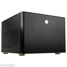Nero kolink Satellite PLUS Micro ATX Cube media PC CASE USB 3.0 PORTE FRONT