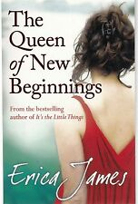 The Queen of New Beginnings by Erica James (Paperback New Book
