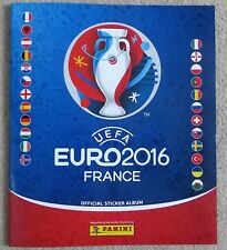 NEW UEFA Euro 2016 Official Panini Sticker Album and free stickers