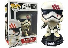 "EXCLUSIVE STAR WARS FN-2187 BLOODY FINN 3.75"" VINYL POP FIGURE STORMTROOPER"
