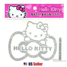 Sanrio Hello Kitty Ribbon Car Decal Sticker (Car Accessory) : Hologram Ribbon