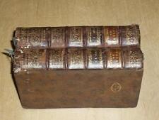 JEAN-JACQUES ROUSSEAU / EMILE Ou de l'Education Complet 4 Tomes 1774 Rare!!