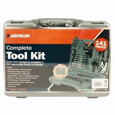 Complete Tool Kit 141 Piece Case Screwdriver Socket Hammer Tool DIY Set