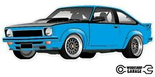 Holden Torana A9X SS Sticker - Light Blue