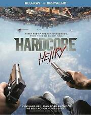 Hardcore Henry with slipcase (Blu-ray , 2016) Tim Roth, - No Digital
