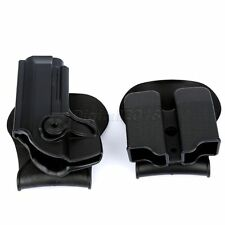 Pistol Holster Double Paddle Magazine Pouch Tactical Combo Set for Beretta 92 96