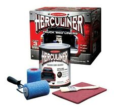 HERCULINER TRUCK BEDLINER KIT BLACK ROLL ON KIT