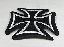 Patch Croix de malte   ,bikers,rock,custom,décoration ,punk,gothique,métal