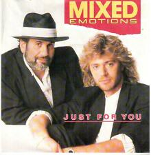 """3937-11  7"""" Single: Mixed Emotions - Just For You"""