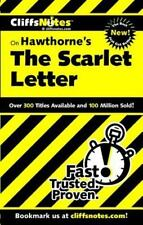 The Scarlet Letter by Nathaniel Hawthorne, Cliffs Notes (2000, Paperback)