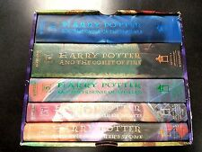 Harry Potter Books Box Set Hardcover (Books 1-5) J.K. Rowling