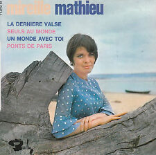 "7"" FRENCH EP 45 TOURS MIREILLE MATHIEU ""La Dernière Valse +3"" 1967 PAUL MAURIAT"