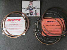YAMAHA YZ80 1993-2001 79cc new wiseco piston ring set 46mm standard size 1810CS