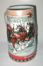 1988 Anheuser-Bush Budweiser Holiday Stein CS 88