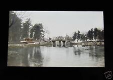 GLASS MAGIC LANTERN SLIDE UNKNOWN LOCATION 27 C1920 POSSIBLY CHINA OR KOREA