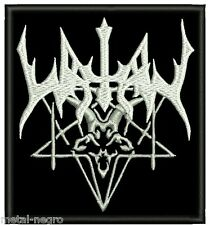 WATAIN EMBROIDERED PATCH 2 BLACK DISSECTION ENTHRONED MOLOCH MAYHEM Metal Negro