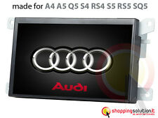AUTORADIO GPS NAVIGATORE TOUCH AUDI A4 A5 Q5 S5 SQ5 RS4 LCD HD USB SD BLUETOOTH