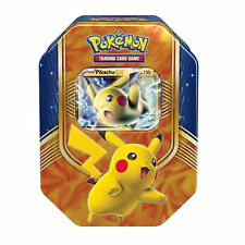 Pokemon Pikachu EX Autumn/ Fall 2016 Collectors Tin - Booster Packs + Promo Card