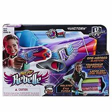 Dk343 lot of 2 Nerf Rebelle Secrets and Spies 4Victory Blaster dual wield party