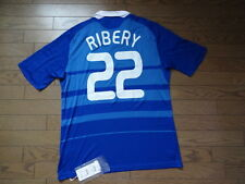France #22 Ribery 100% Original Soccer Football Jersey Shirt XL 2008 Home BNWT