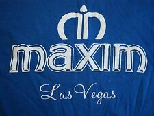 Vintage Maxim Casino Las Vegas Nevada Strip Poker Gambling Tourist T Shirt M