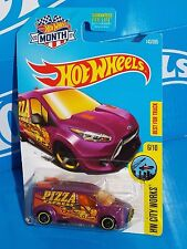 Hot Wheels 2017 HW City Works Series #143 Hot Wheels Ford Transit Connect Purple