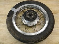 1976 Yamaha XS650 XS 650 Y621' rear wheel rim aluminum cafe 18in