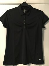 Nike Golf Tour Performance Dri-Fit Black T-Shirt Sz S