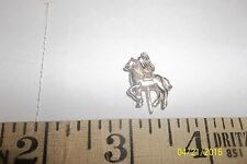 Sterling Silver - 3D Carousel Horse  Charm Pendant 206660