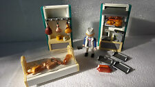 PLAYMOBIL 4412 Magasin boucherie butcher shop boucher meatman aliments food -17-