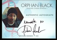 Cryptozoic Orphan Black Season 1 Variant AUTO Card - Michael Mando as Vic