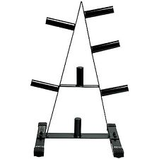 NEW & SEALED! CAP Barbell Round Tubes Olympic Plate Rack - 500lb Weight Capacity