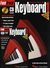 Fast Track Keyboard Method Starter Pack Learn to Play Piano Music Book CD & DVD