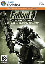 Fallout 3 Game Add On Pack Anchorage PC IT IMPORT BETHESDA