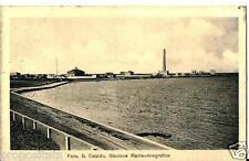 pu 21 Anni 20- FARO SAN CATALDO (Bari) Stazione Radiotelegr.a - non viaggiata FP