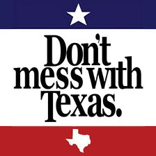 DON'T MESS WITH TEXAS METAL FRIDGE MAGNET #0127
